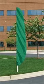 FEATHER FLAG EMERALD GREEN 12 FT