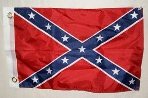 Confederate Flag  3 ft x 5 ft Lightweight Polyester