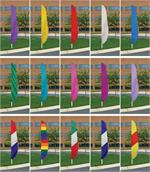 FEATHER FLAG NYLON 7 FT X 17 IN $ 29.50