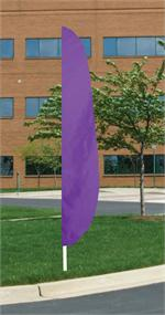 FEATHER FLAG LAVENDER 12 FT NYLON