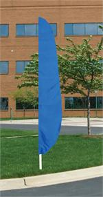 FEATHER FLAG ROYAL BLUE 12 FT