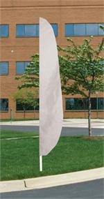 FEATHER FLAG WHITE 12 FT